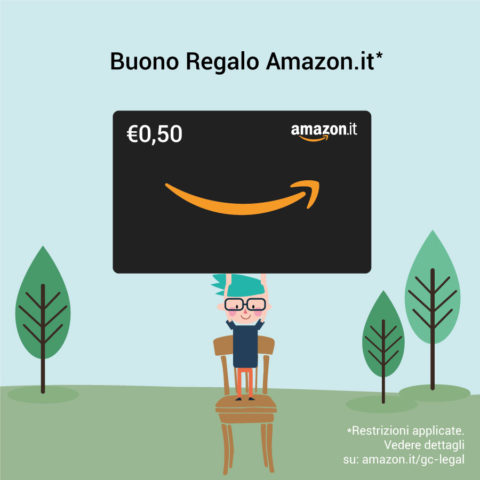 Buono Regalo Amazon.it €0,50